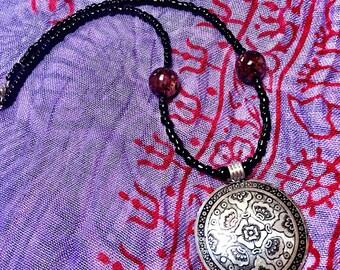 Gypsy wildflower necklace