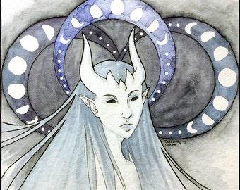 "Lunar Devil 6x8"""