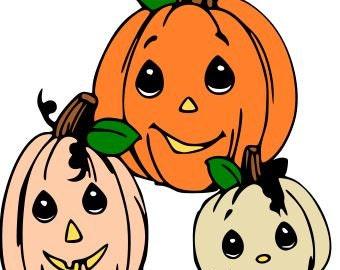 Pumpkin Family SVG