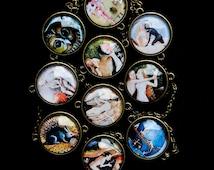 Necklace - The garden of delights (Jérôme Bosch)