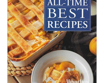 Midwest Living Magazine's All-Time Best Recipes | Like New | 1990s