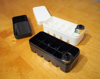 Film cases for 35mm and 120mm film