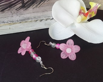 """romantic wedding"" PIÈCE UNIQUE wedding earrings"