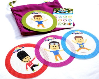 HopSpots - Fitness - Children's indoor or outdoor fitness game