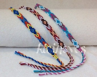 Knotted, traditional bracelets