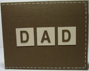 Handmade Father's Day Card - Dad's Wallet