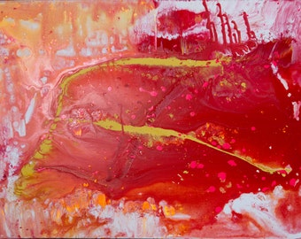 Contemporary Art Abstract Acrylic Painting on Canvas