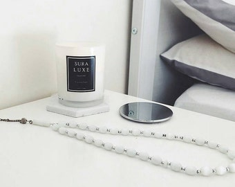 Sura Luxe White Candles