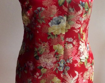 Vintage 90's chinese dress