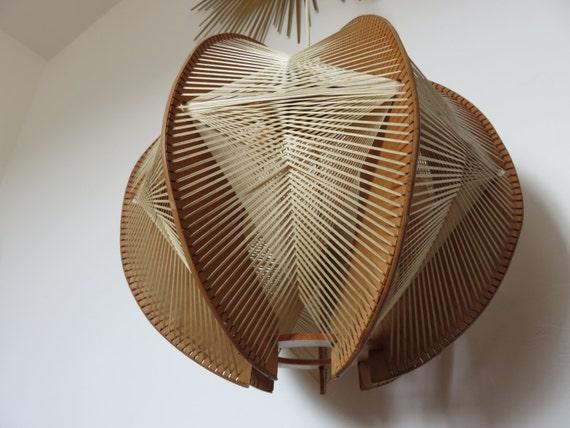 tr s rare lustre suspension scandinave xxl fil et bois des. Black Bedroom Furniture Sets. Home Design Ideas