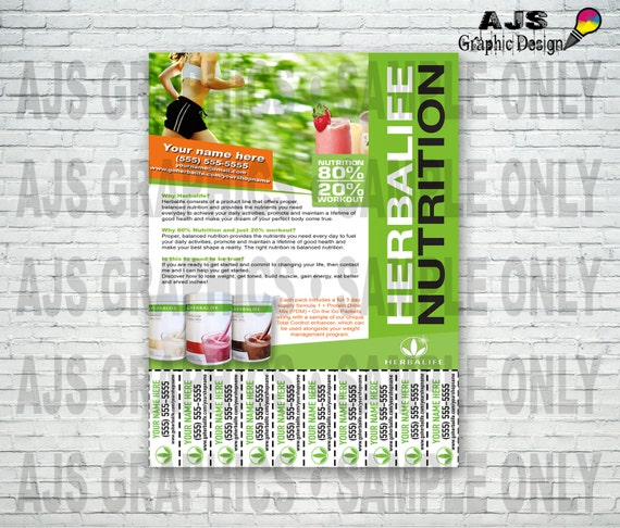 custom print ready herbalife contact flyer herbalife graphics herbalife design formula 1. Black Bedroom Furniture Sets. Home Design Ideas