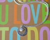 Hand Stamped Teacher Appreciation Necklace