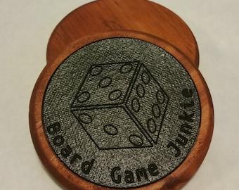 Custom Board Game Drink Coasters
