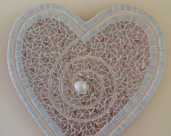 Happy Ever After - Handmade Heart Mosaic