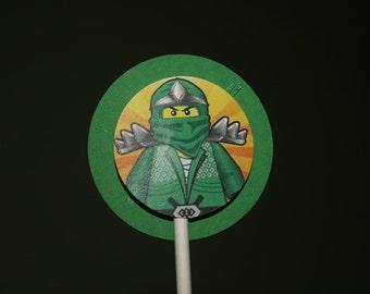 Lego Ninjago Cupcake Toppers