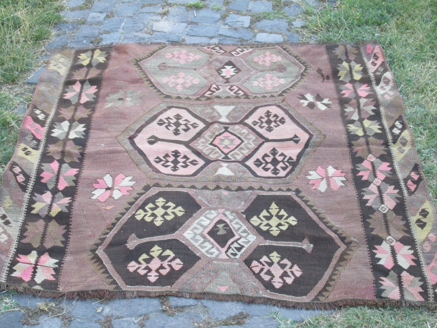 Vintage Kilim Rug Home Decor Rug Turkish Kilim Rug