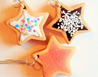 Mini Sugar Cookie Star Necklace