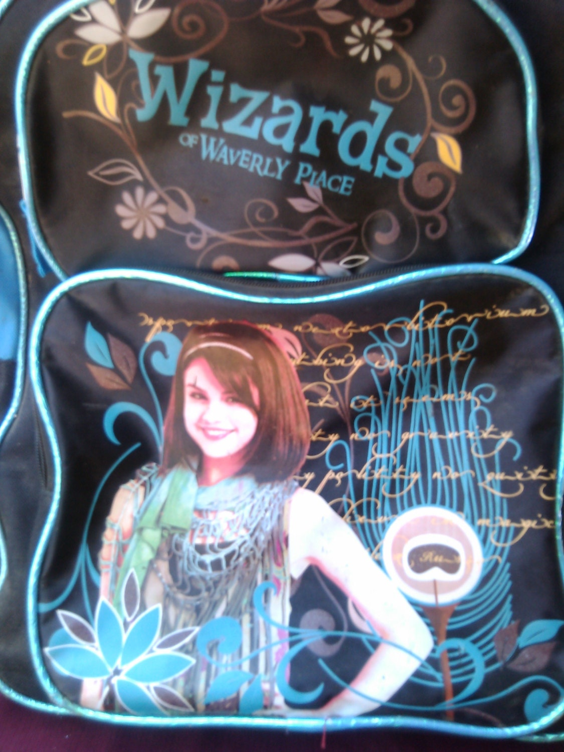 2 Set Wizards Of Waverly Place Backpack Lunch Box Alex School Bag Disney New additionally Wizards Of Waverly Place Backpack further Hocus Pocus Style Ranking besides Fancy 20Spellbook together with DISNEY WIZARDS WAVERLY PLACE Flower BACKPACK ALEX RUSSO EBay. on wizards of waverly place backpack
