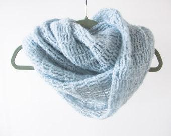 Romantic infinity scarf