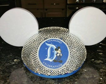 60th Anniversary Glowing Mickey Mouse Inspired Ear Hat