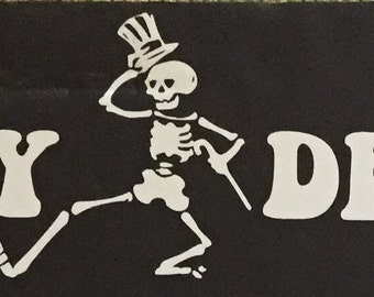 PLAY DEAD vinyl Grateful Dead sticker