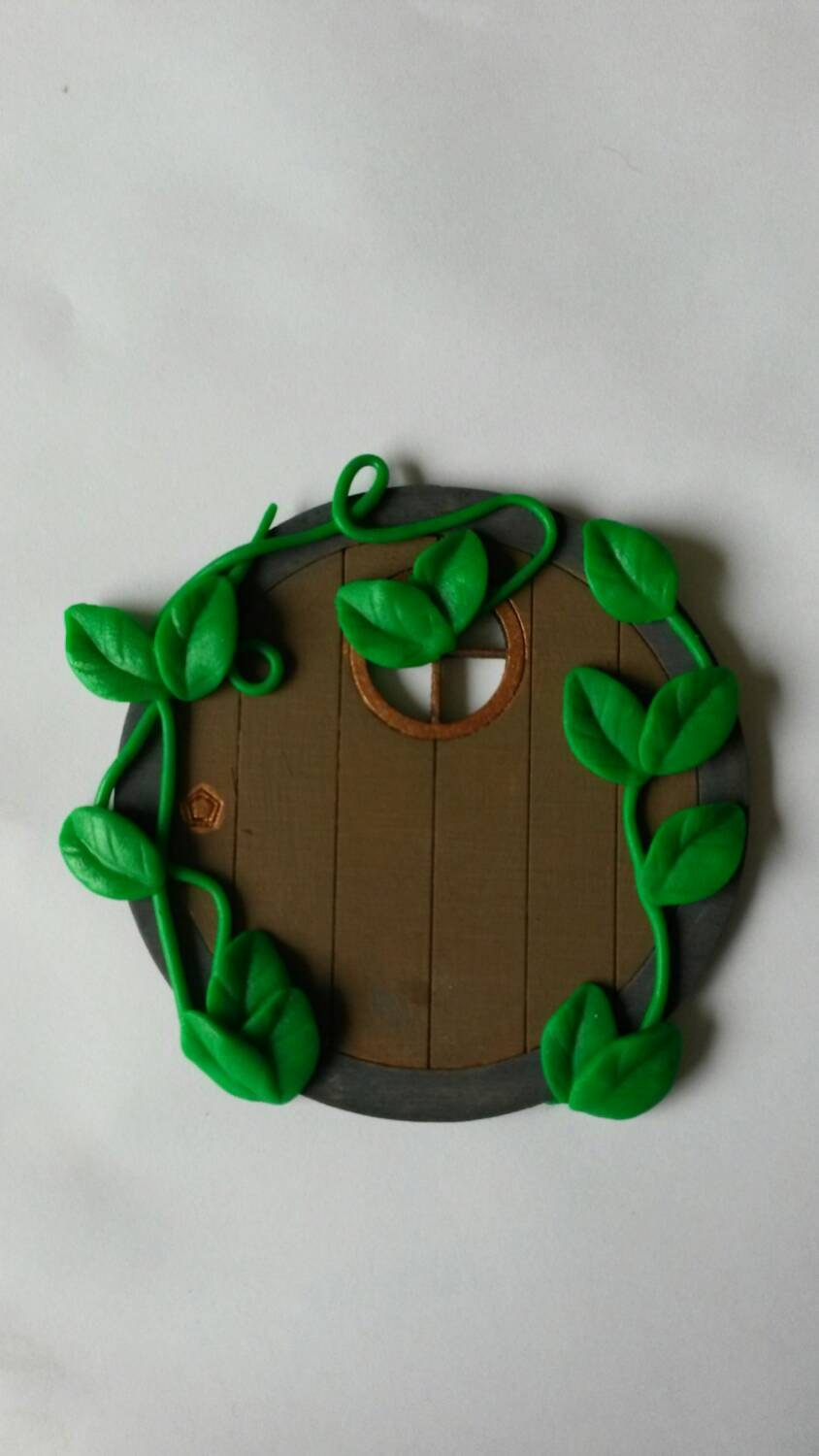 Fairy door hobbit door fairy house fairy garden fairy for Elf door accessories