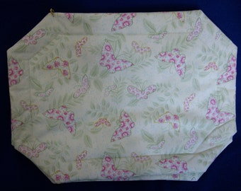 Set of 4 Mint Green Butterly Placemats