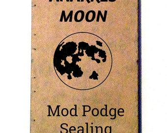 ModPodge - Protection - Sealing - Notebook - Sketchbook - Journal - Blank