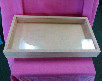 Display case Solid Wood