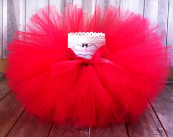 Red Tutu, Infant Tutu, Girls Tutu, Cake Smash Tutu, Newborn Tutu, Toddler Tutu, Baby Tutu, Photo Prop Tutu, Cake Smash Tutu, Birthday Tutu
