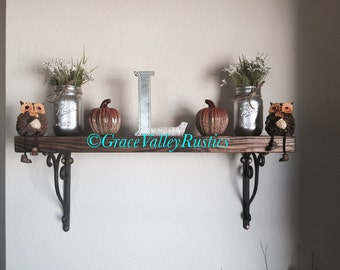 Rustic Custom Shelves