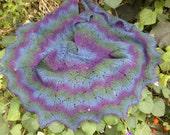 shawl  wool wrap shawl handmade shawl warm shawl from the wool of Kauni shawl for women shawl for girls shawl winter shawl beautiful colors