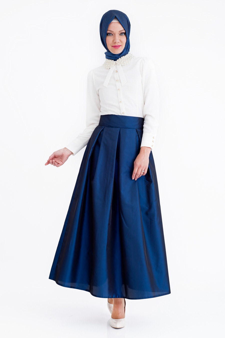 navy blue or maxi skirt formal evening by