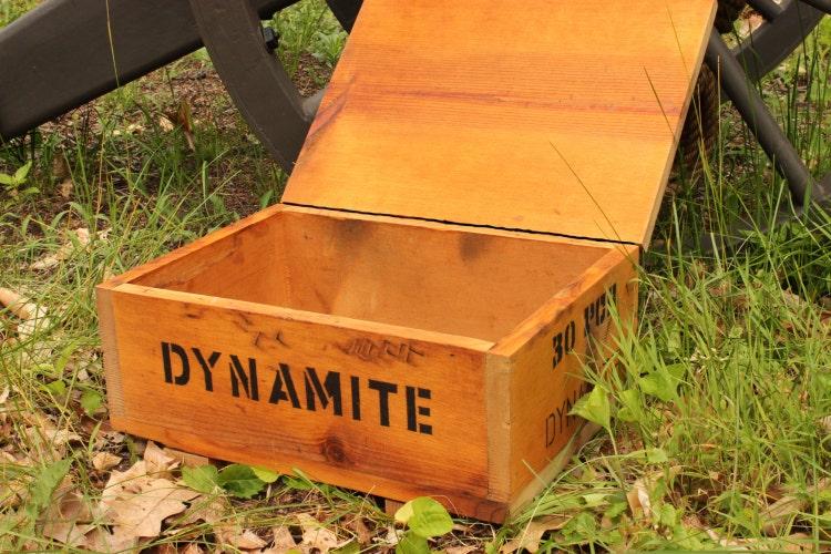 Iron Trunk Box Decor
