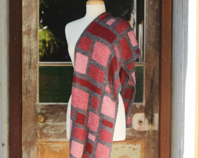 Cubism Wrap.  PATTERN ONLY!!!