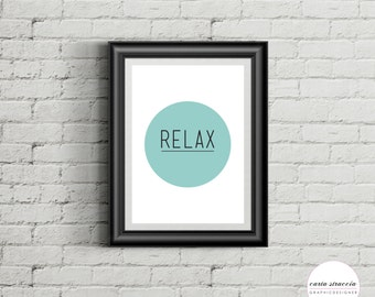Posters • Time to relax