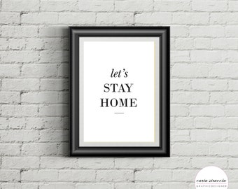 Poster • Stay Home