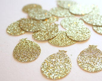Glitter Confetti - Hot Air Balloon Confetti - gold glitter confetti - Bridal Shower confetti - Birthday Decorations - Baby Shower Decoration