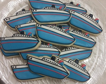 Cruise Ship Cookies