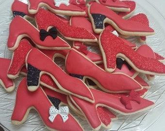 Red Heels Cookies