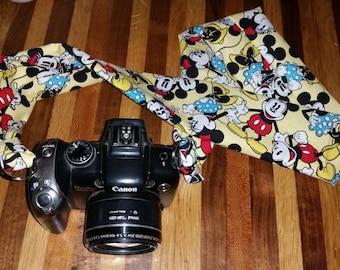 Handmade  camera strap