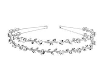 Classic Crystal Headband, bridal headband, prom headband, glamour accessories, bridal hair accessories, wedding hairbands