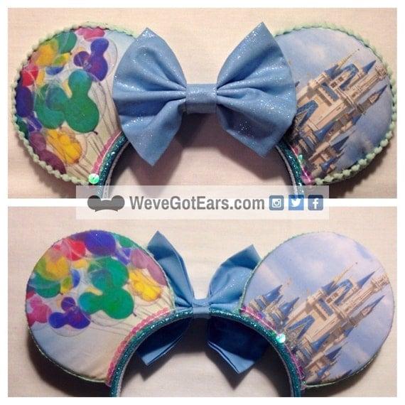 Magic Kingdom - Cinderella Castle - Handmade Mouse Ears - Mickey Ears