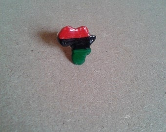 RBG red black and green Africa ring