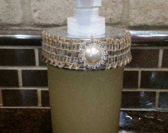 Organic hand soap, hand soap, bathroom soap, lavander vanilla soap, peppermint soap, all natural soap, liquid soap