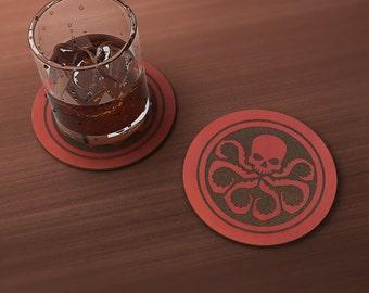Hydra Geek Drink Coaster