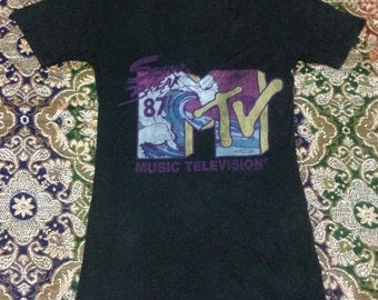 Junk Food Music Television Made In Usa women Size s