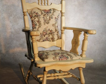 "Rocking chair, ""Villagoise"" line."