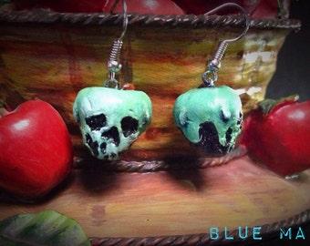 Snow White: Poison Apple Earrings