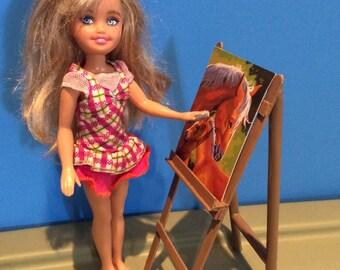 Doll art set.